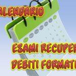 Convocazione consiglio di classe I AA per ratifica scrutini finali recupero debito formativo